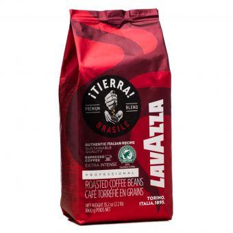 Кофе в зёрнах Lavazza Tierra Brasile Extra Intense 1 кг