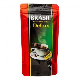 Кофе растовримый сублимат Premiere Brasil DeLux 75г