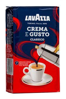 Кофе молотый Lavazza Crema e Gusto Classico 250 г