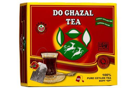 Чай чёрный в пакетиках 100 шт