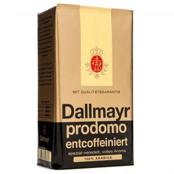Кофе молотый без кофеина Dallmayr 500 г