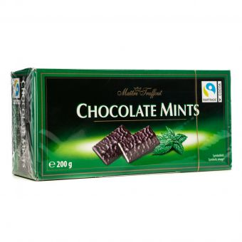 Конфеты Maitre Truffout Chocolate Mints 200г