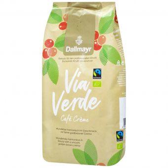 Кофе зерновой Dallmayr  Via Verde Cafe Crema  1кг