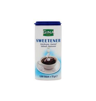 Сахарозаменитель в таблетках Gina Sweetener 1200 табл.