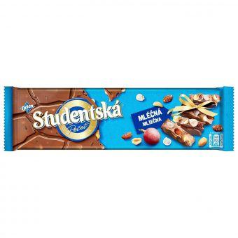 Молочный шоколад Studentska 260 г
